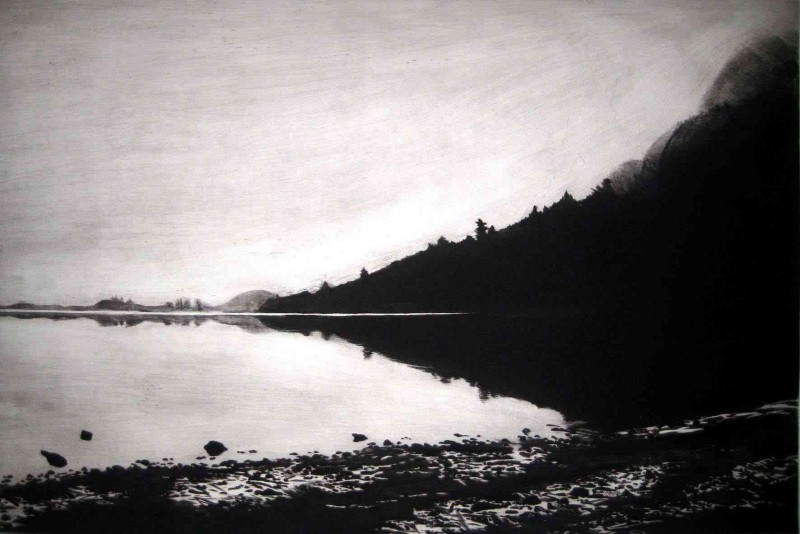 Melvyn Petterson RE, Lake Derwent, Winter