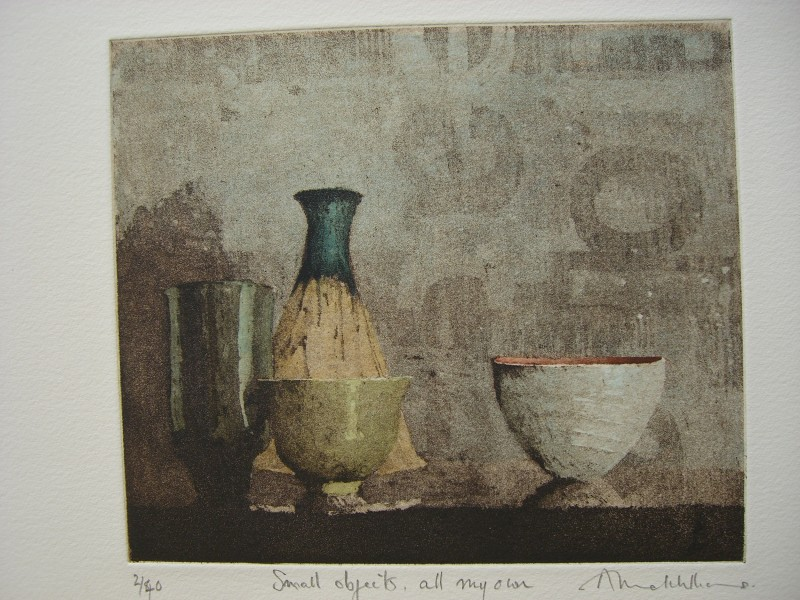 Annie Williams RWS RE, Small Objects All My Own