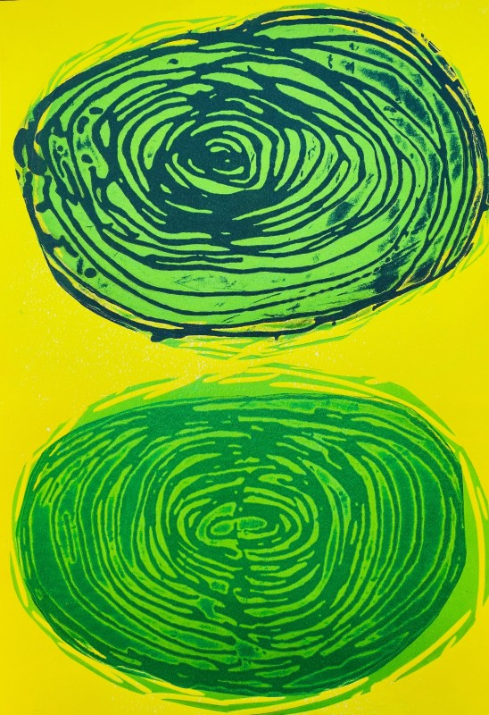 Howard Jeffs RE, Two Whirls No 3