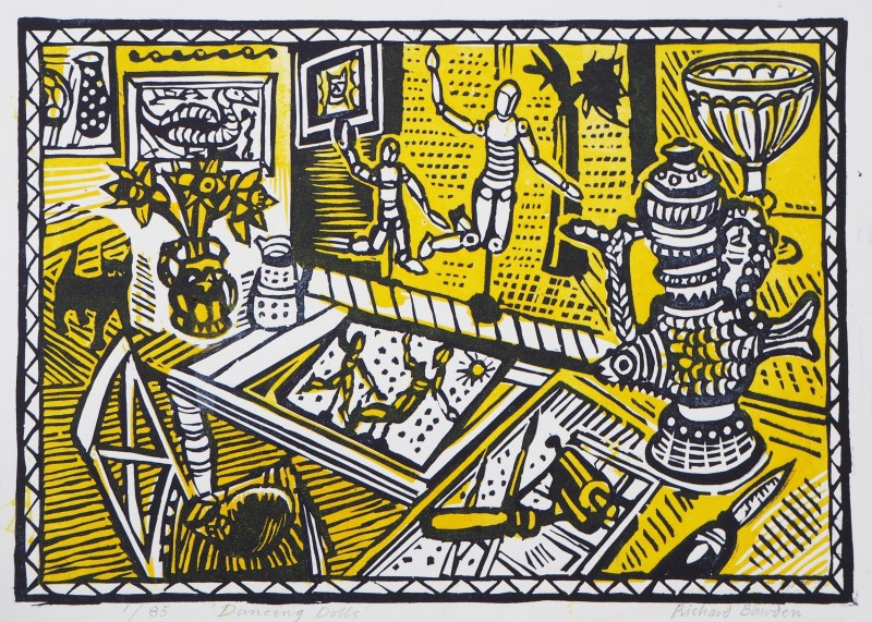 Richard Bawden RWS RE, Dancing Dolls