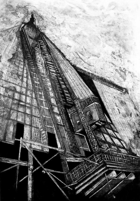 Jackie Newell RE, The Shard under Construction