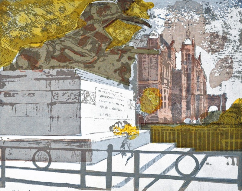 Thomas Walsh RE, War Memorial, Kelvingrove Art Galleries , Glasgow