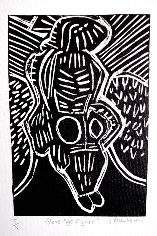Stephen Mumberson RE, Stone Age Figure 1