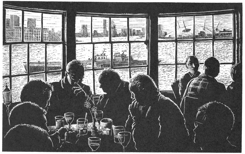John Bryce RE, Greenwich Whitebait Supper