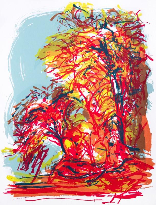 Denise Ballard Wyllie ARE, Cherry Blossom Front: The Effervescences of Summer