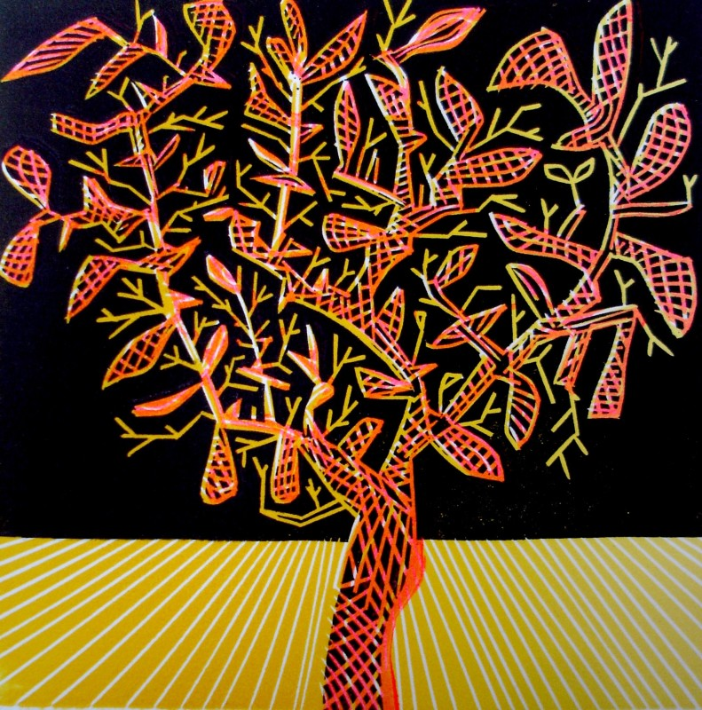 Dale Devereux Barker RE, Watching the Tree