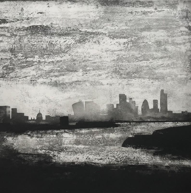 Jason Hicklin RE, The Thames, Greenwich Reach