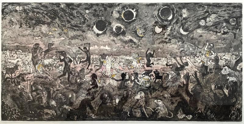 James Boyd Brent RE, Adoration (solar eclipse)