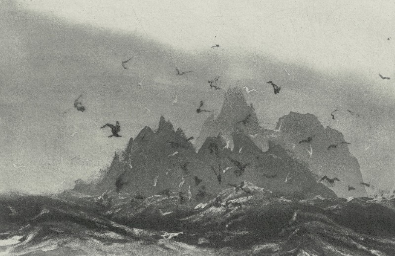 Norman Ackroyd RA RE, Skelling Rocks