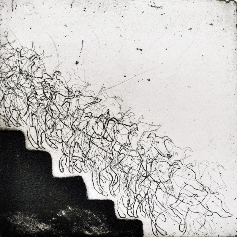 Mychael Barratt PPRE Hon RWS, Marcel Duchamp's Dog