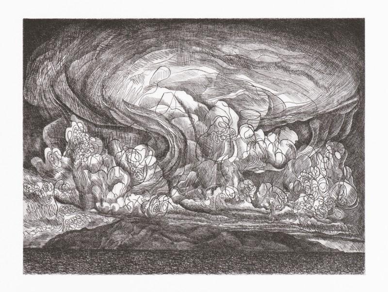 Paul Hawdon RE, Storm Over La Gomera