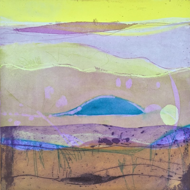 Louise Davies RE, Summer Dawn