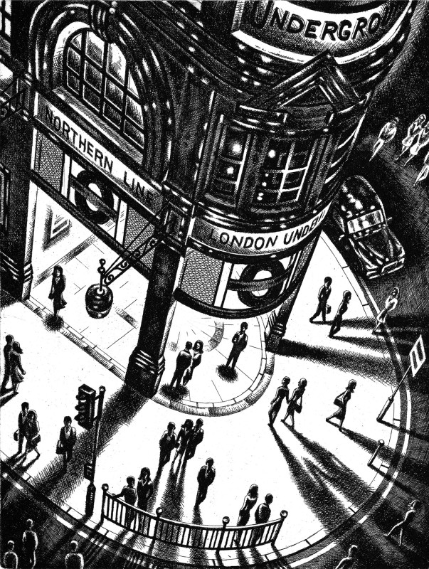 John Duffin RE, Tube Shadows