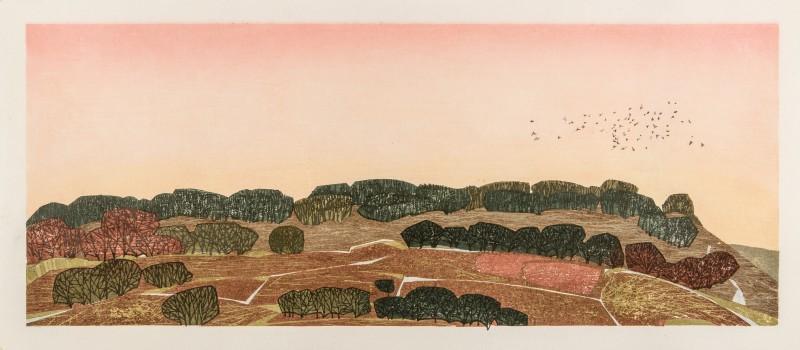 Laura Boswell ARE, Rhubarb Sky, Hawnby