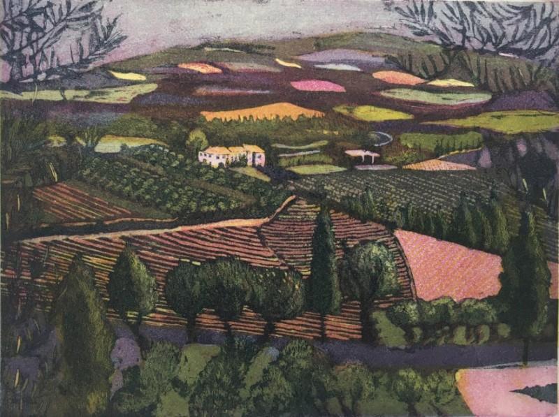 Karen Keogh RE, Tuscan Twilight