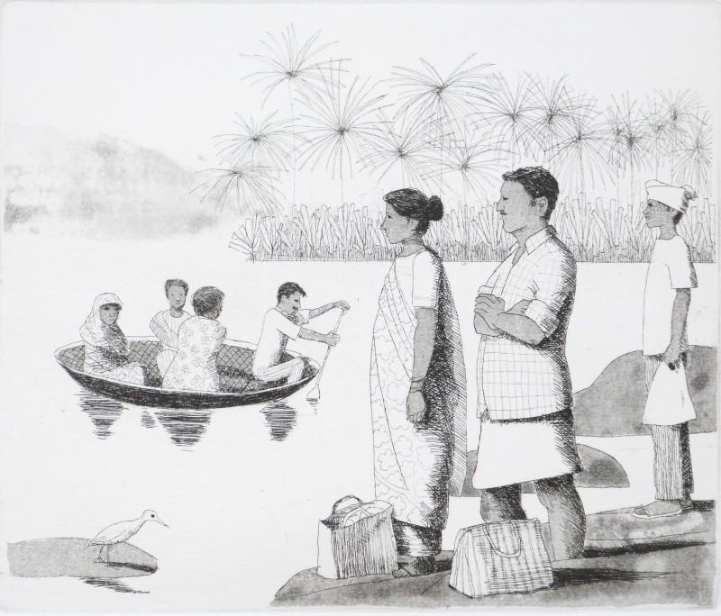 Frans Wesselman RE, Hampi Ferry