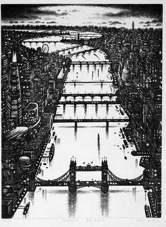 John Duffin RE, Thames Bridges