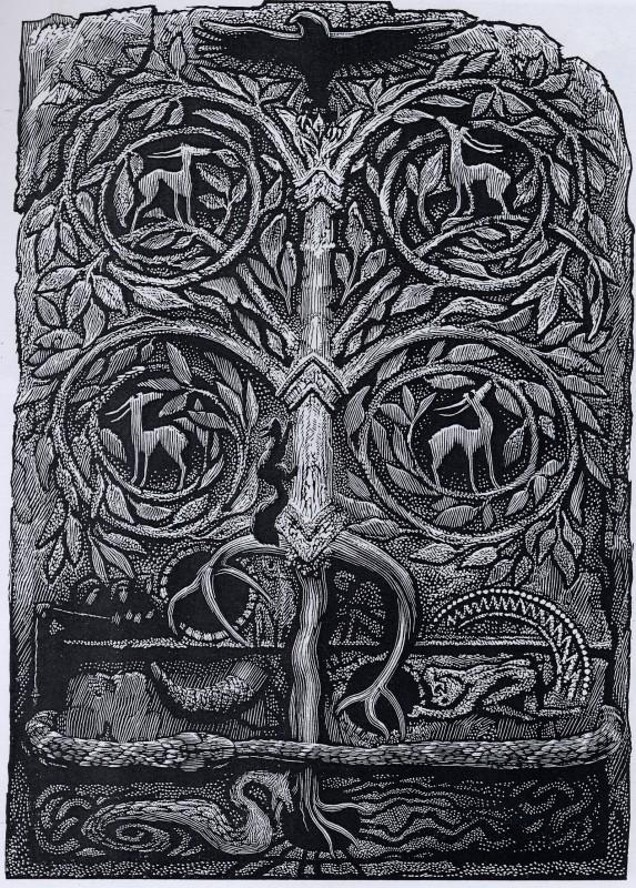 Simon Brett RE, Yggdrasil Tree