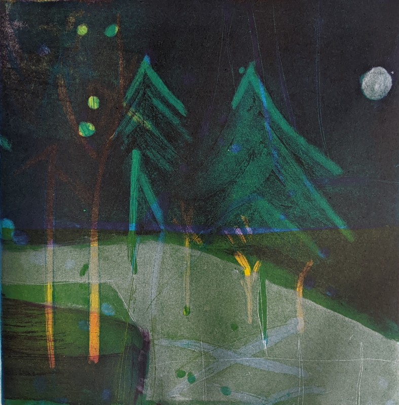 Louise Davies RE, Enchanted Forest