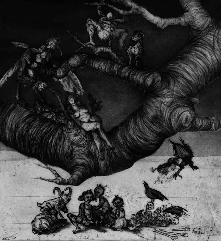 Maite Cascón ARE, The Shadow Tree II