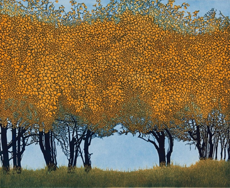 Phil Greenwood RE, Dancing Trees