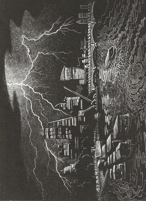 John Bryce RE, Lightning Strike