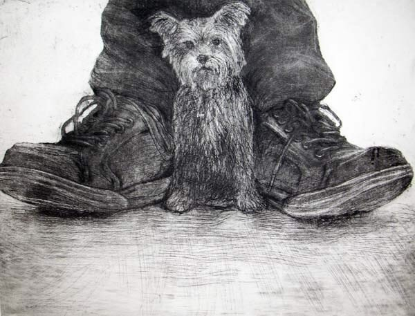 Chris Salmon RE, Dog and Shoes