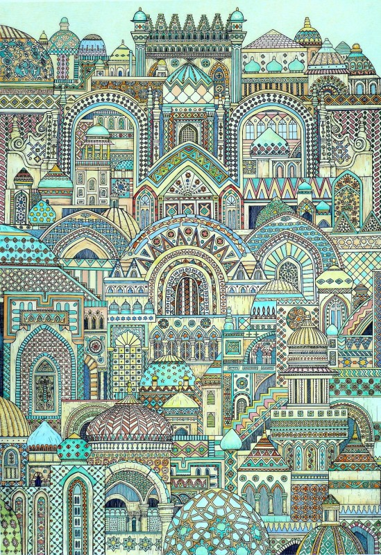 Meg Dutton RE , Multi Patterned City