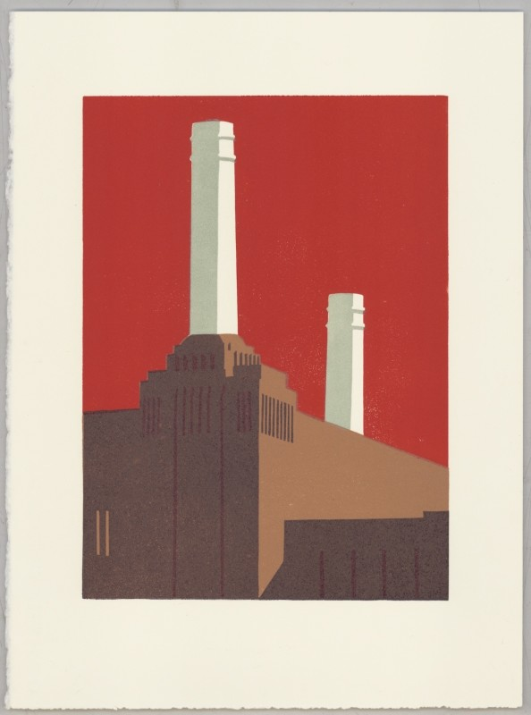 Paul Catherall RE, Battersea Red III