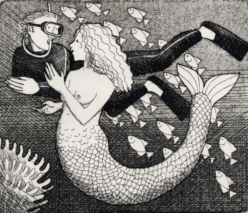 Frans Wesselman RE, Small Mermaid