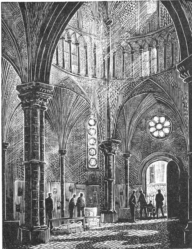 John Bryce RE, The Nave, Temple Church