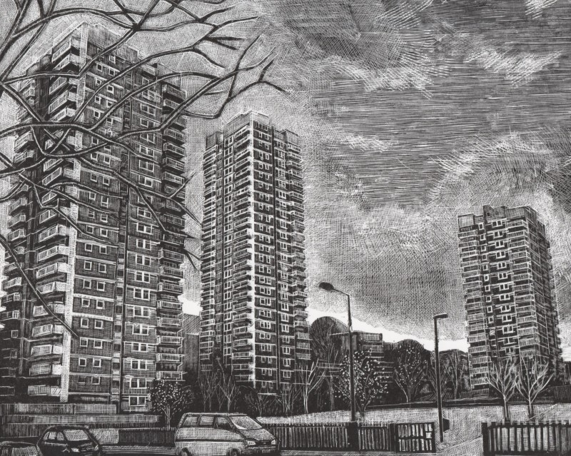 Louise Hayward RE, St George's Estate
