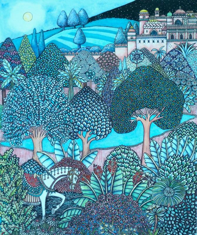 Meg Dutton RE, Night Forest