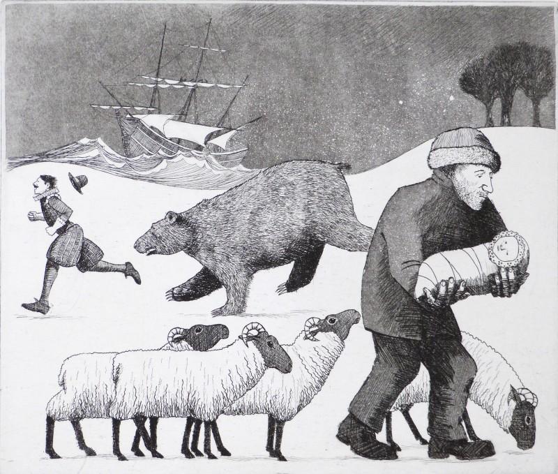 Frans Wesselman RE, A Winter's Tale