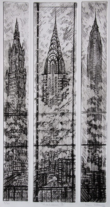 Neil Pittaway RWS RE, Manhattan 3
