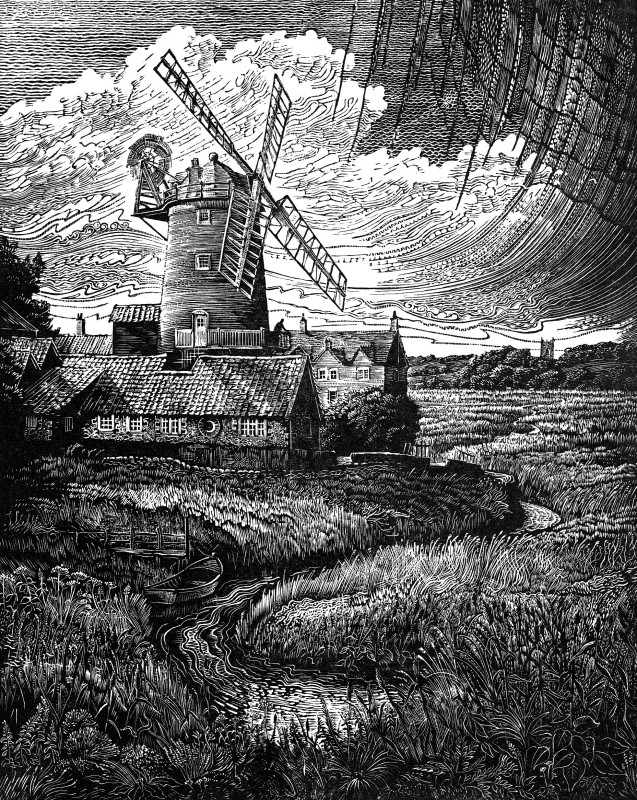 John Bryce RE, Windmill & Reedbeds