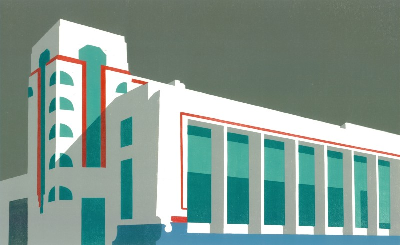Paul Catherall RE, Hoover Grey
