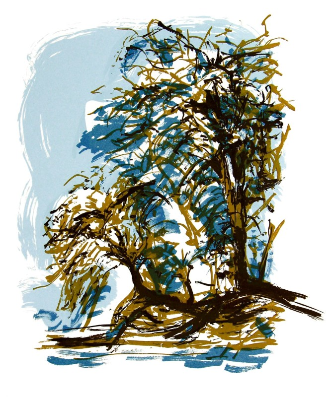 Denise Ballard Wyllie ARE, Cherry Blossom Front Winter Introspection