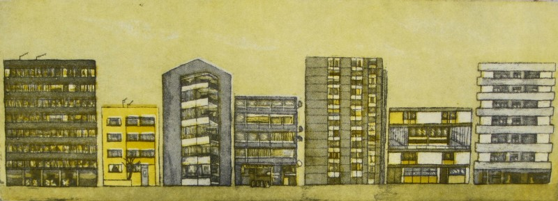 Karen Keogh RE, London Lives - Clapham High Rise