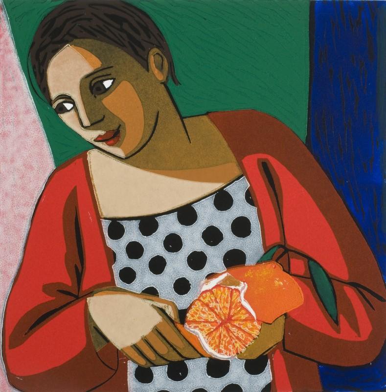 Anita Klein PPRE Hon RWS, Peeling an Orange