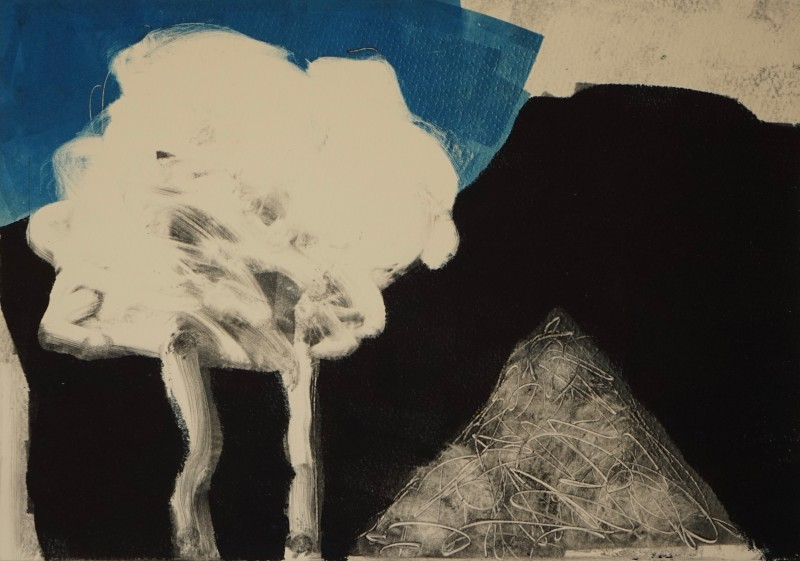 Robert Baggaley RE, Trees With Remains