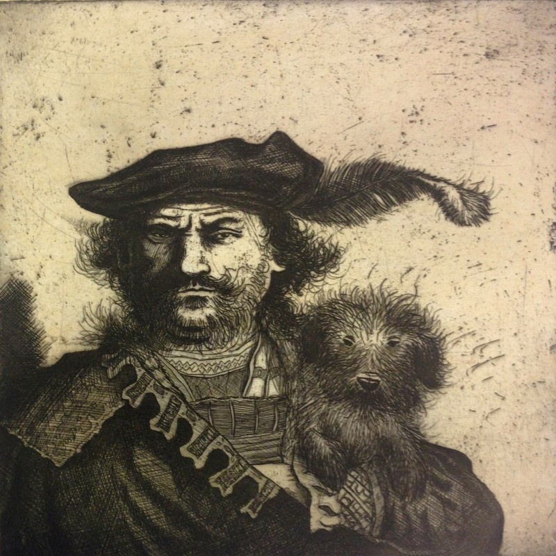 Mychael Barratt PPRE Hon RWS, Rembrandt's Dog