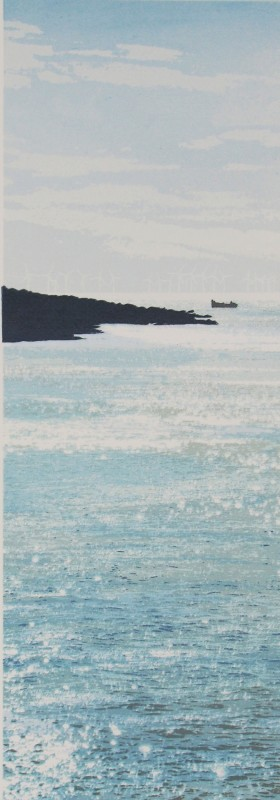 Janet Brooke RE, Rottingdean Morning x2