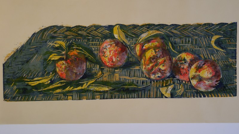 Hilary Daltry RE, Six Peaches