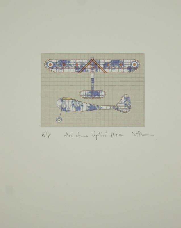 Stephen Hoskins RE, Miniature Uphill Aeroplane