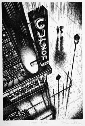 John Duffin RE, Soho Rain