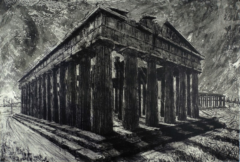 Ros Ford RE, Temple of Neptune, Paestum