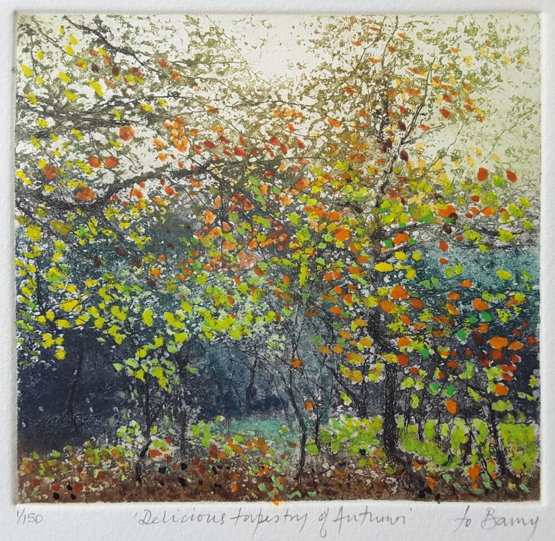 Jo Barry RE, Delicious Tapestry of Autumn