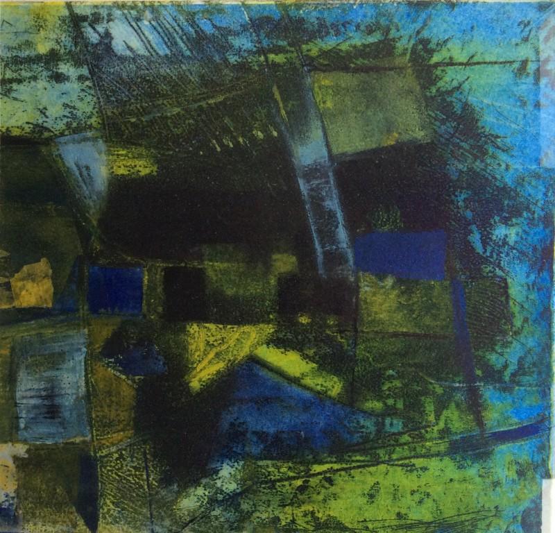 Margaret Sellars RE, Lagoon 3, Deeper Water