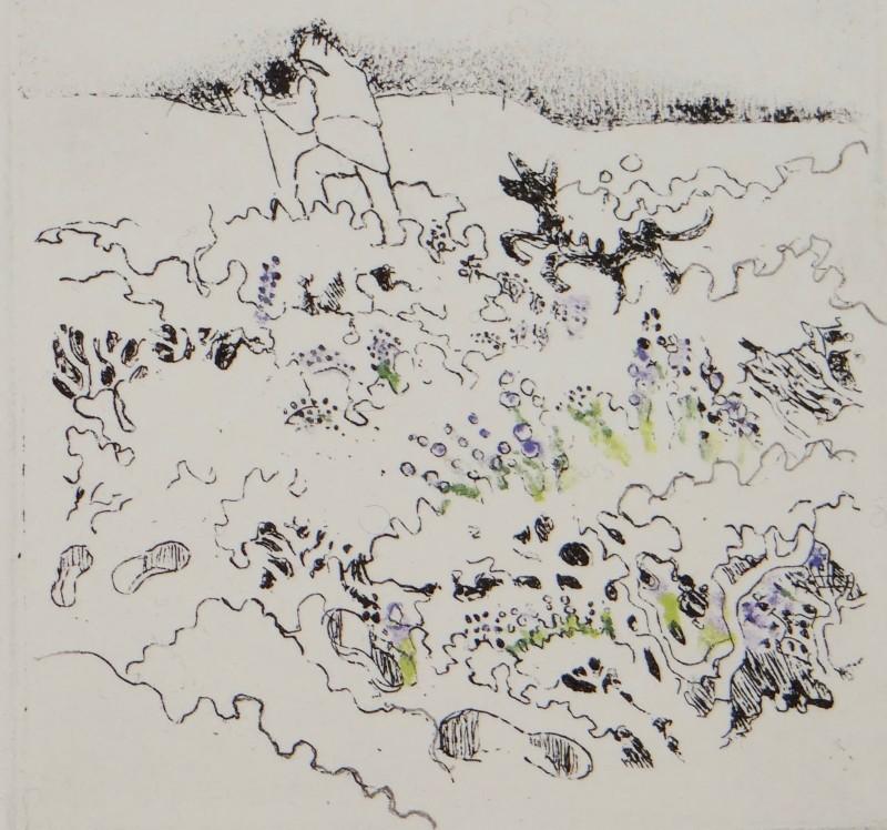 Rosamund Jones RE, Winter Moorland
